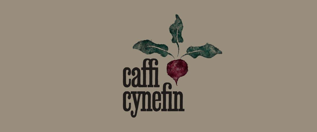Caffi Cynefin Logo Design