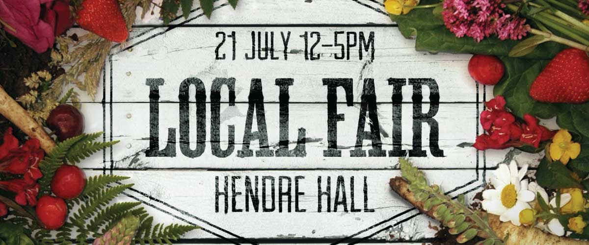 Caffi Cynefin Hendre Fair Poster Design