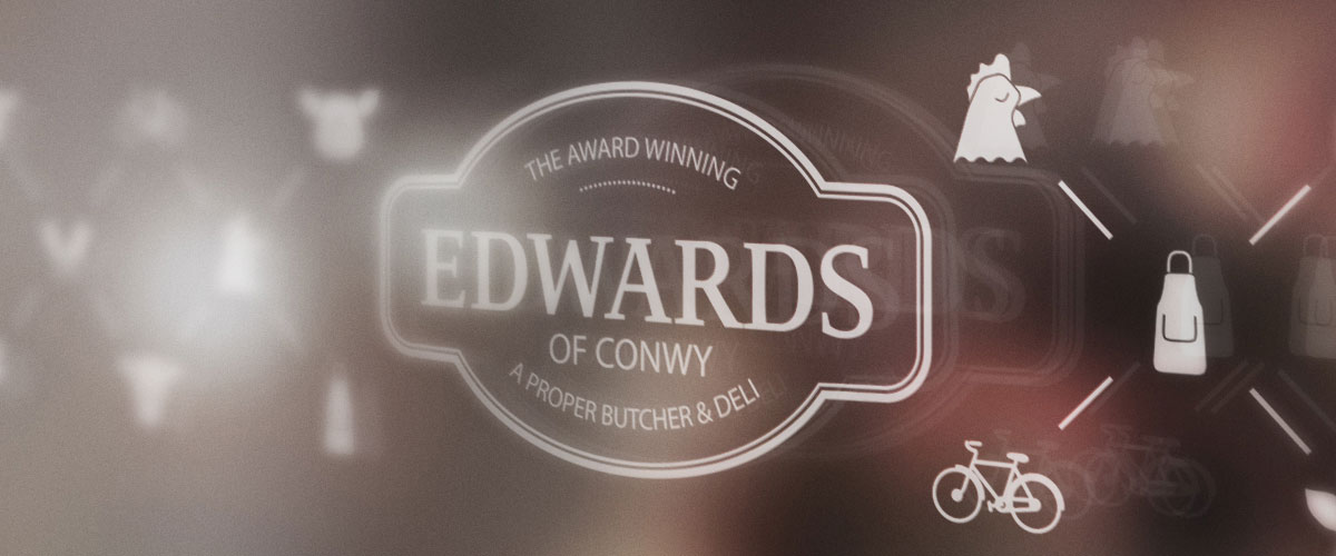 Edwards of Conwy Window Graphics